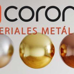 Creación de materiales metálicos PBR con Corona Renderer