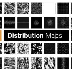 Cómo funcionan los mapas de distribución en Forest Pack