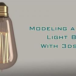Cómo modelar una bombilla de Edison