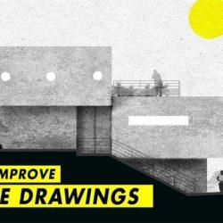 Cómo dar un toque artístico a tus elevaciones con SketchUp y Photoshop