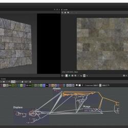 Creación de muro de piedra con Substance Designer