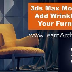 Cómo agregar arrugas a tus cojines en 3ds Max