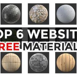 6 Sitios para descargar texturas y materiales gratis!