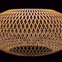 Cómo modelar una lámpara de rattan