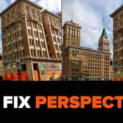 Cómo corregir la perspectiva vertical en Photoshop