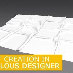 Cómo modelar una alfombra en Marvelous Designer