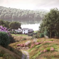 Cómo crear un paisaje natural con Forest Pack y RailClone
