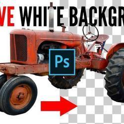 Cómo remover fondos blancos en Photoshop