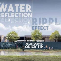 Cómo simular reflexiones en agua en Postproducción