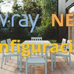 Configuración simple y efectiva para VRay NEXT