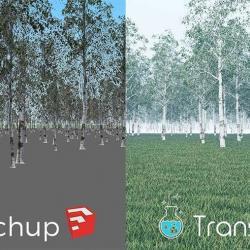 Cómo importar modelos a SketchUp de manera rápida con Transmutr
