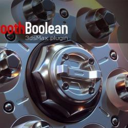 Scripts para 3ds Max | Smooth Boolean 1.0