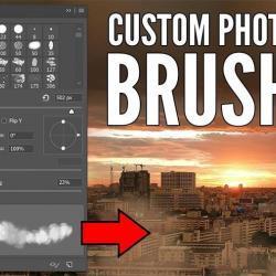 Crea tus propias brochas para postproducción en Photoshop