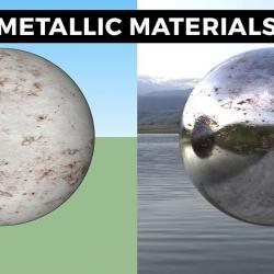 Cómo crear metales realistas con VRay para SketchUp