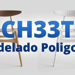 Cómo modelar la silla CH33T