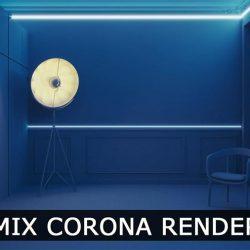 Cómo trabajar con Corona Light Mix