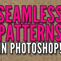 Cómo crear texturas repetibles con Photoshop