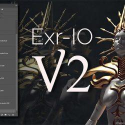Trabaja tus archivos EXR en Photoshop con Exr-IO