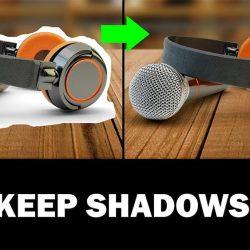 Cómo recortar fondos manteniendo sombras en Photoshop