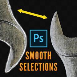 Cómo lograr selecciones de bordes suaves en Photoshop