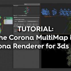 Cómo trabajar con Corona MultiMap en 3ds Max