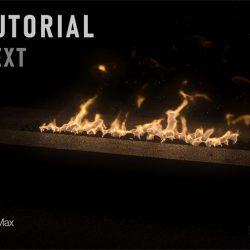 Cómo simular fuego con V-Ray NEXT y Phoenix FD