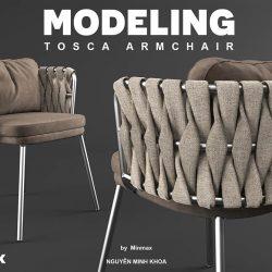 Modelos 3D Gratis DCIII | Silla Tosca