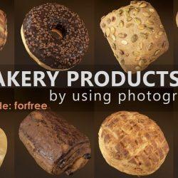 Modelos 3D Gratis DC | Productos de panadería