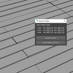 Scripts para 3ds Max | Random Rotate