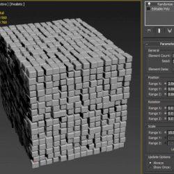 Scripts para 3ds Max | Randomize Elements