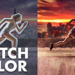Cómo igualar colores e iluminación de escalas humanas en Photoshop