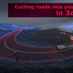 How to cut roads into terrains in 3ds Max