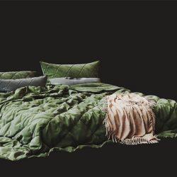 Free 3D Models DCXI | Pistachio Bed