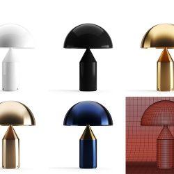 Modelos 3D Gratis DCIX | Lámpara Atollo