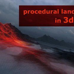 Cómo crear terrenos procedurales en 3ds Max