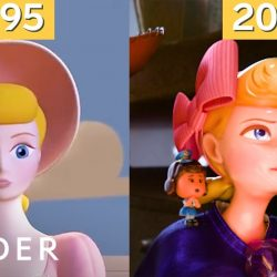 How Pixar's animation has evolved in 24 years
