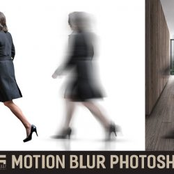 How to apply motion blur to people cutouts