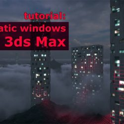 Parametric windows creation in 3ds Max