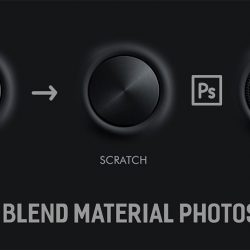 Create materials in Photoshop using Blend Modes