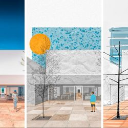 3 Different styles of architectural visualization