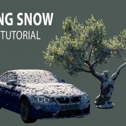 Adding snow to your scene with 3ds Max and tyFlow