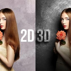 Convert Flat 2D to Real 3D in Photoshop