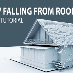 Snow Falling from a Roof Tutorial