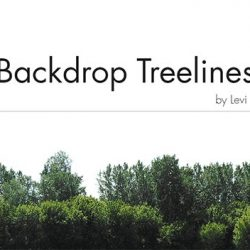 Free Backdrop Treelines