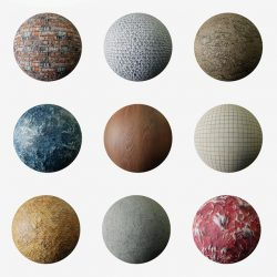 Download hundreds of PBR materials for free