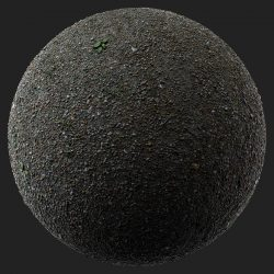 Free Scanned Gravel Ground Material