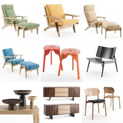 Free 3D Models DCXXIX | Furniture