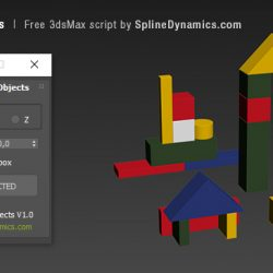 Scripts for 3ds Max | Align Multiple Objects
