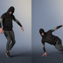Free 3D Models DCXXXI | Man Dancing