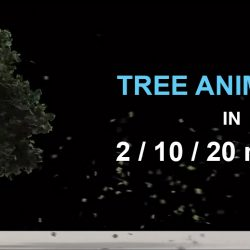 3 Techniques to animate trees in 3ds Max
